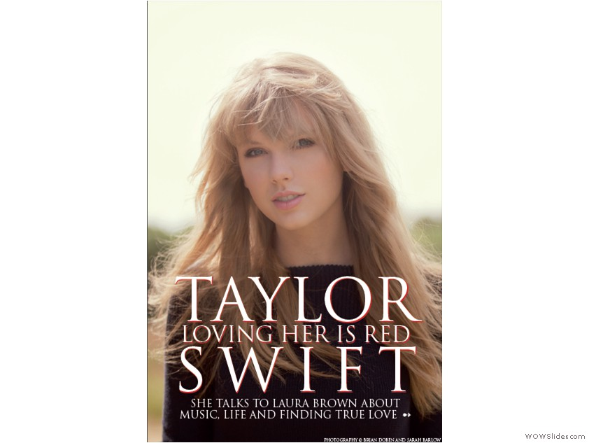 Mock-Ups 02 - Taylor Swift 02 - Page 1